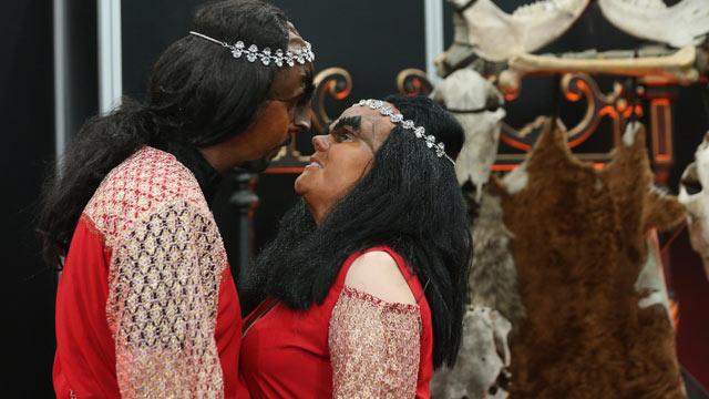 Klingon Wedding in Britain for Swedish Fans of 'Star Trek'