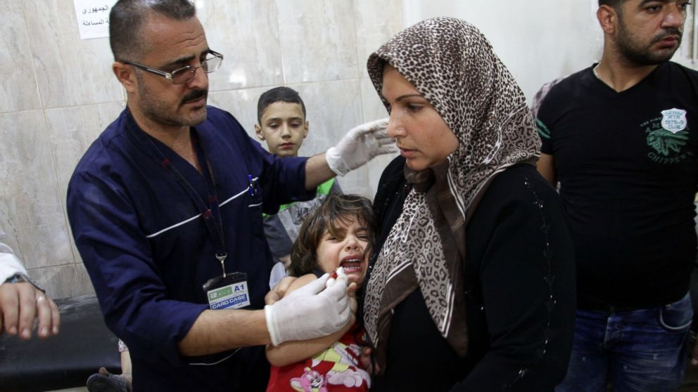 'The Whole World Has Abandoned Us': Aleppo Doctors Fight for Patients' Survival
