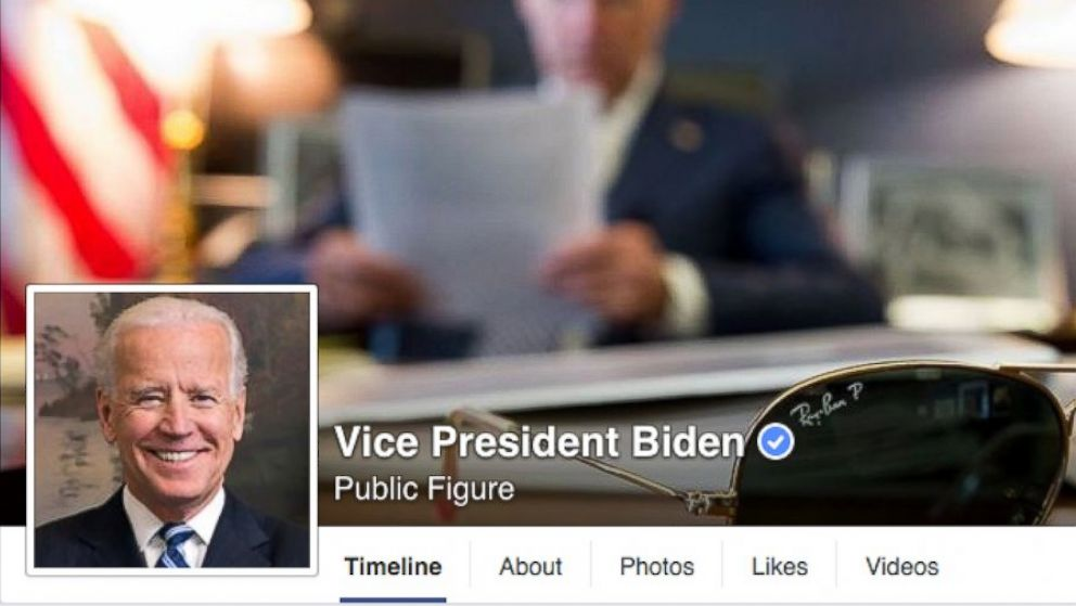 Joe Biden Becomes First VP to Launch Facebook Page