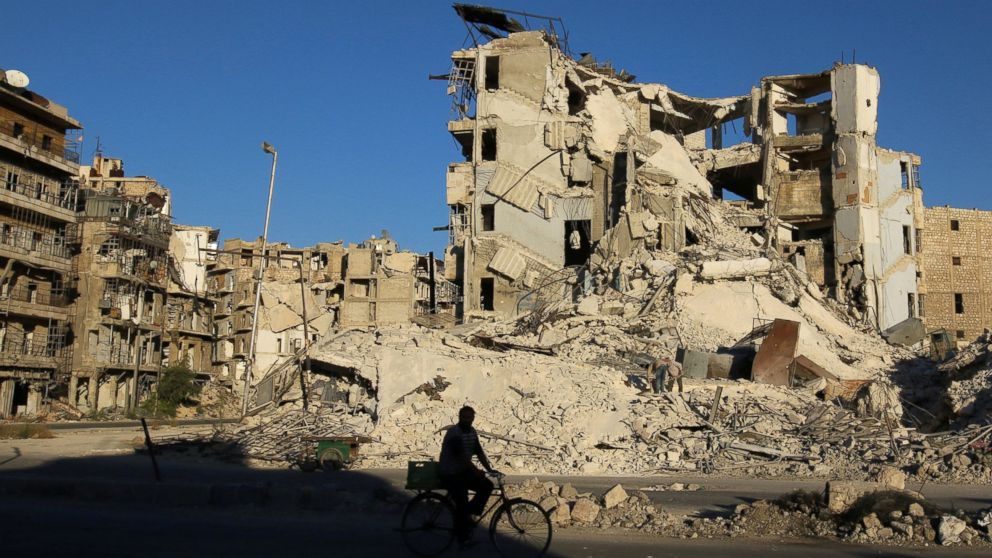 Number of Wounded Rises in Aleppo as Airstrikes Continue