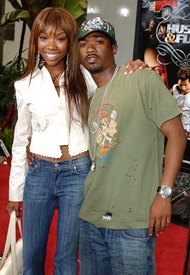 Premiere: Brandy and Ray J at the Hollywood premiere of Paramount Classics' Hustle & Flow - 7/20/2005