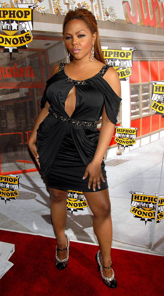 Lil' Kim at the 2006 VH1 Hip Hop Honors.