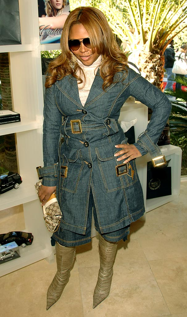 Lil' Kim at the Haven House 2007 Oscar Suite.