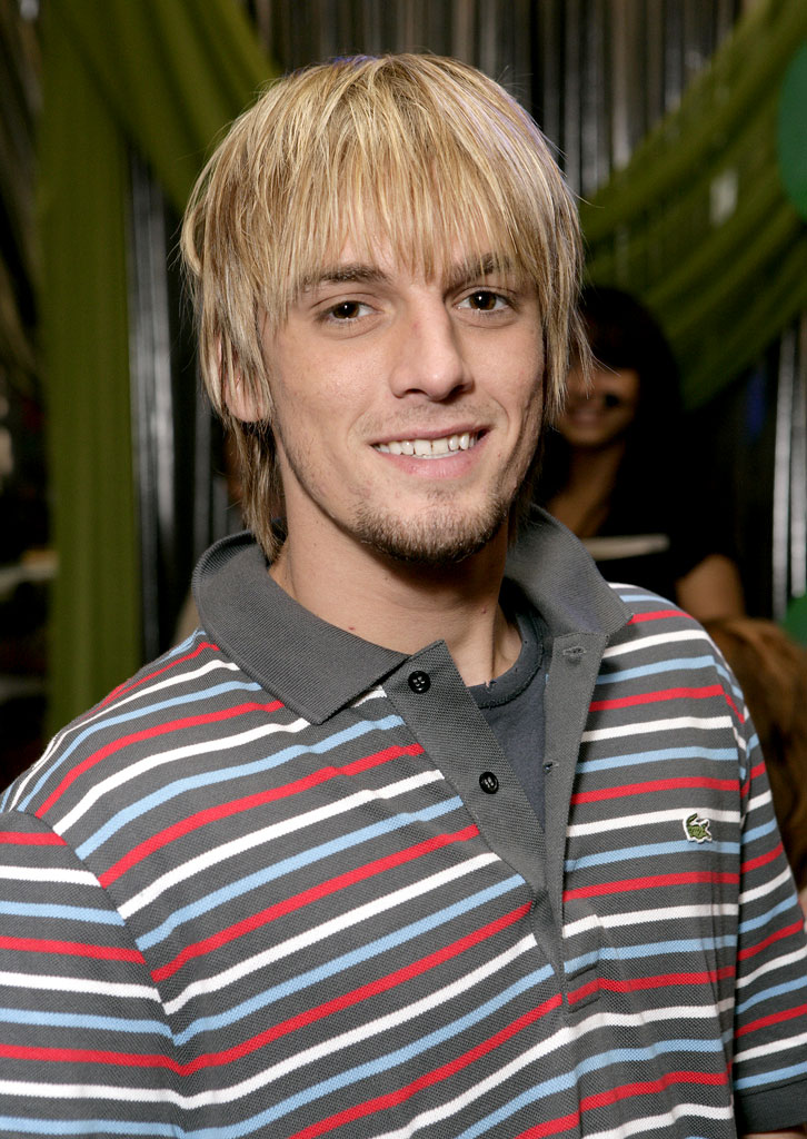 Aaron Carter at Nickelodeon's 20th Annual Kids' Choice Awards.