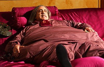 Adam Arkin as Dale the Whale Monk on USA Network