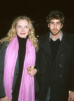Premiere: Julie Delpy and Adam Goldberg at the Beverly Hills premiere of Sony Pictures Classics' Sweet and Lowdown - 12/2/1999
