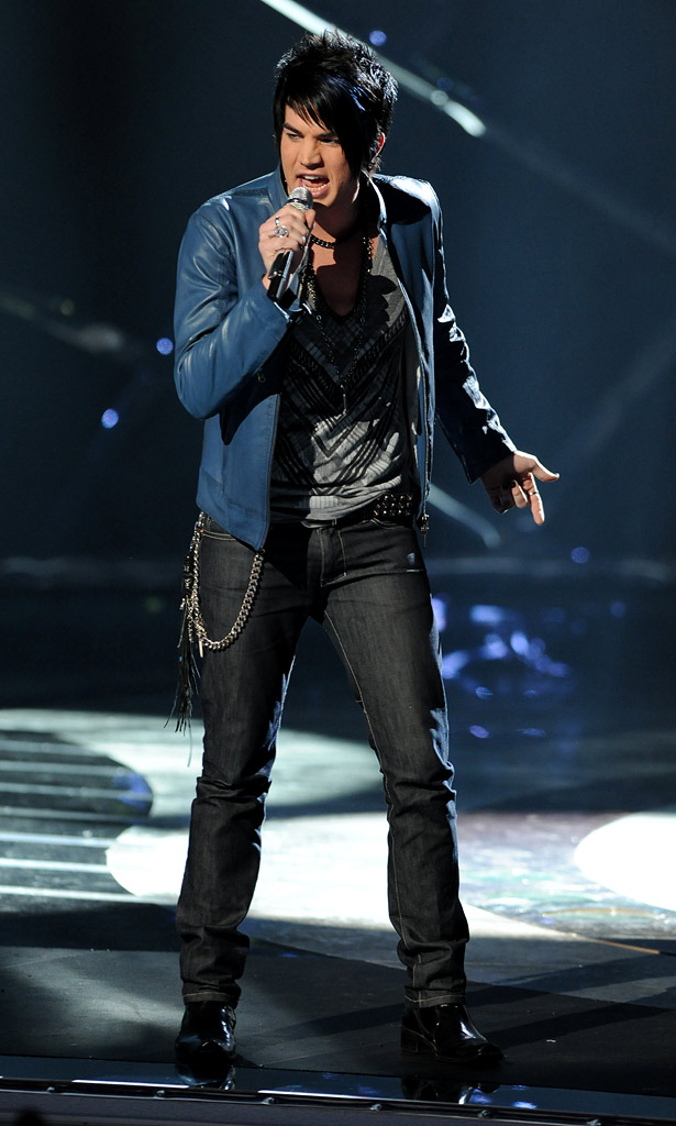 "Adam Lambert performs ""Black or White"" by Michael Jackson on ""American Idol."""