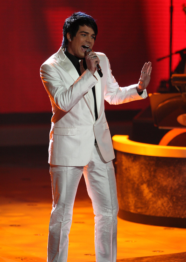 "Adam Lambert performs Rat Pack Standard ""Feeling Good"" on ""American Idol."""