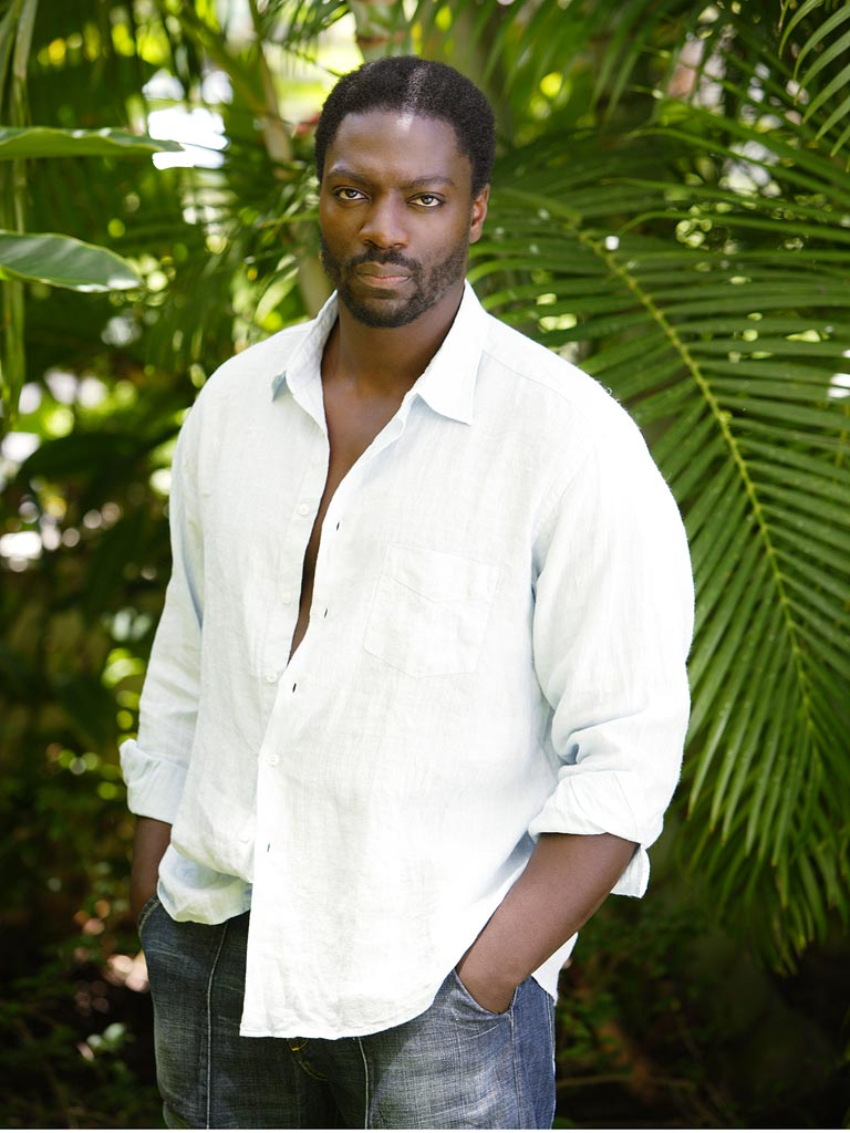 Adewale Akinnuoye-Agbaje stars as Mr. Eko in Lost on ABC.