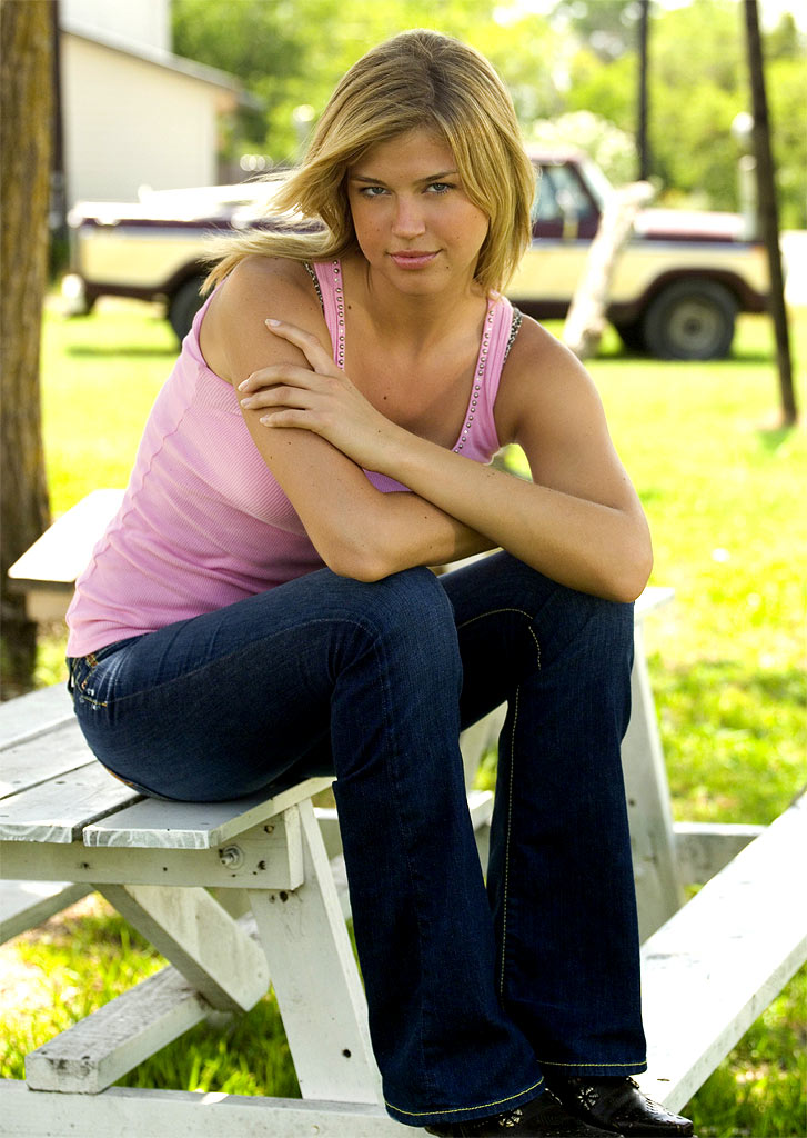 Adrianne Palicki stars as Tyra Collette in Friday Night Lights on NBC.
