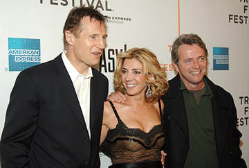 Liam Neeson, Natasha Richardson and Aidan Quinn Asylum premiere - Tribeca Film Festival April 25, 2005 - New York, NY