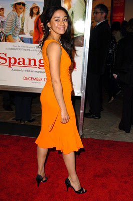 Premiere: Aimee Garcia at the Westwood premiere of Columbia Pictures' Spanglish - 12/9/2004