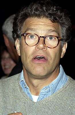 Premiere: Al Franken at a New York screening of MGM's Bandits - 9/25/2001