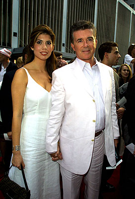 Premiere: Alan Thicke and galpal at the New York premiere of Warner Brothers' A.I.: Artificial Intelligence - 6/26/2001