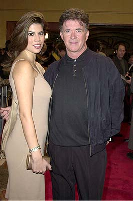 Premiere: Alan Thicke with gal at the Westwood premiere of New Line's Thirteen Days - 12/19/2000