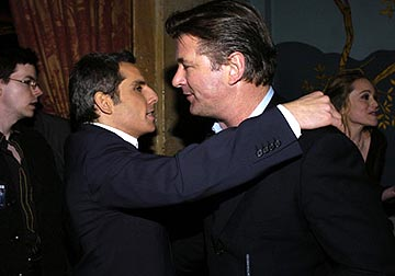 Premiere: Ben Stiller and Alec Baldwin at the LA premiere of Universal's Along Came Polly - 1/12/2004
