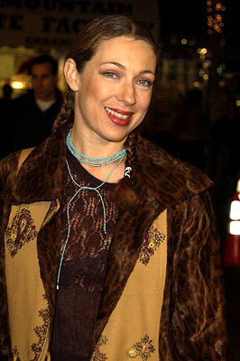 Premiere: Alex Kingston at the LA premiere of Miramax's Kate & Leopold - 12/11/2001