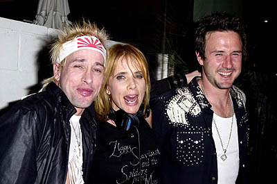 "Alexis Arquette, Rosanna Arquette and David Arquette WWD's ""Black, White and Diamonds"" Pre-Oscar Party Beverly Hills, CA 3/21/2001"