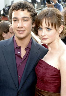 Premiere: Shia LaBeouf and Alexis Bledel at the Hollywood premiere of Warner Bros. Pictures' The Sisterhood of the Traveling Pants - 5/21/2005