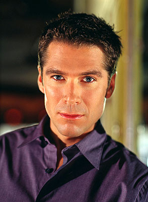 Alexis Denisof as Wesley Wyndam-Pryce in WB's Angel