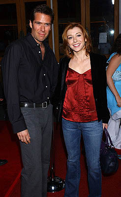 Premiere: Alexis Denisof and Alyson Hannigan at the LA premiere for Universal Pictures' Serenity - 9/22/2005