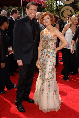 Alexis Denisof and Alyson Hannigan 57th Annual Emmy Awards Arrivals - 9/18/2005