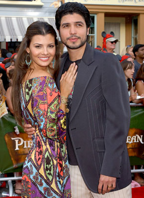 Premiere: Ali Landry and Alejandro Gomez Monteverde at the Disneyland premiere of Walt Disney Pictures' Pirates of the Caribbean: Dead Man's Chest - 6/24/2006