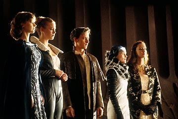 Julie Cox as Irulan, Jessica Brooks as Ghanima Atreides, James McAvoy as Leto Atreides II, Alice Krige as Lady Jessica and Daniela Amavia as Alia Sci-Fi Network's Children of Dune