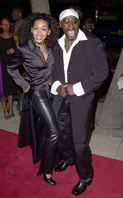 Premiere: Valarie Rae Miller and Alimi Ballard at the Beverly Hills premiere of 20th Century Fox's Men of Honor - 11/1/2000