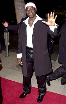 Premiere: Alimi Ballard at the Beverly Hills premiere of 20th Century Fox's Men of Honor - 11/1/2000