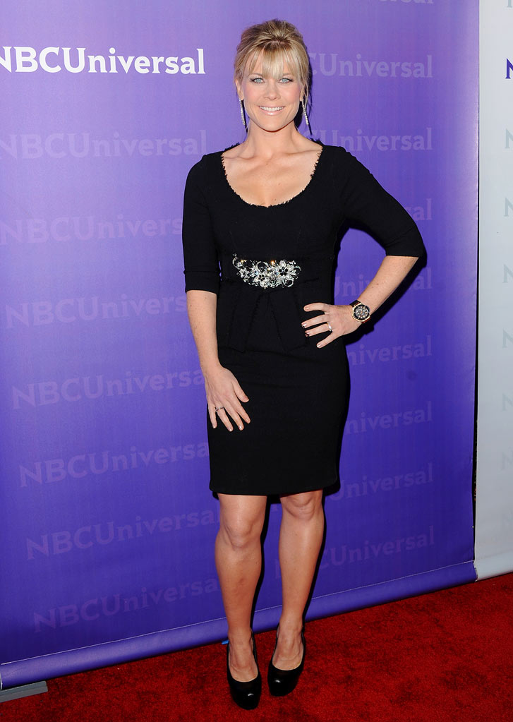 "Alison Sweeney (""The Biggest Loser"") attends the 2012 NBC Universal Winter TCA All-Star Party at The Athenaeum on January 6, 2012 in Pasadena, California."