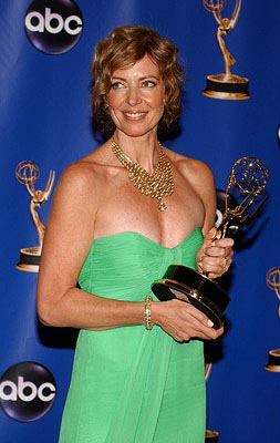 "Allison Janney of ""The West Wing"" Outstanding Lead Actress in a Drama Series Emmy Awards - 9/19/2004"