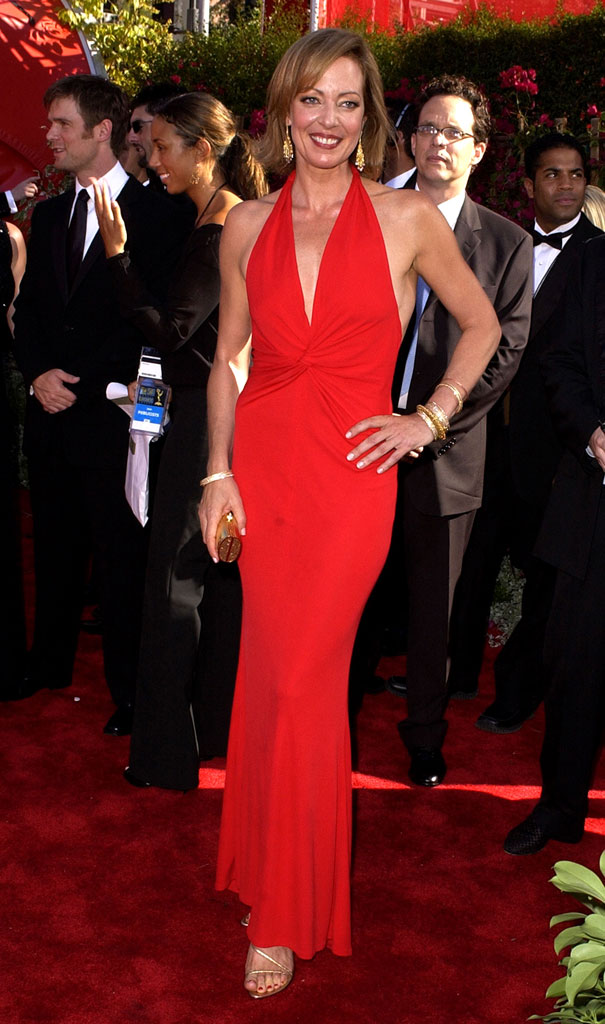 Allison Janney at The 54th Annual Primetime Emmy Awards.