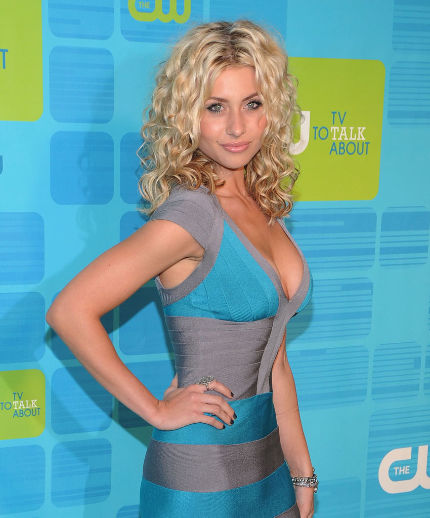 "Alyson Michalka (""Hellcats"") attends the 2010 The CW Upfront at Madison Square Garden on May 20, 2010 in New York City."