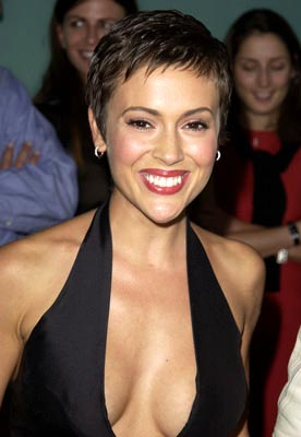 Premiere: Alyssa Milano at the LA premiere of Paramount's Dickie Roberts: Former Child Star - 9/3/2003