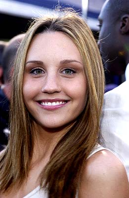 Premiere: Amanda Bynes of Big Fat Liar, the Blue Paul Giamatti movie, at the Hollywood premiere of Warner Brothers' The Matrix: Reloaded - 5/7/2003