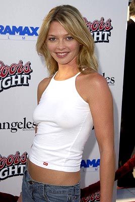 Premiere: Amanda Detmer at the Beverly Hills premiere of Miramax's Full Frontal - 7/23/2002