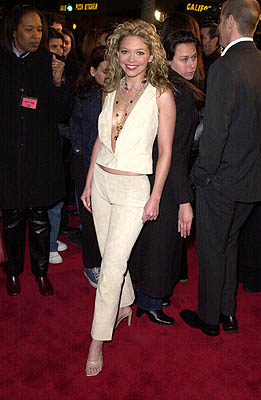 Premiere: Amanda Detmer at the Mann Village Theater premiere of Columbia's Saving Silverman - 2/7/2001