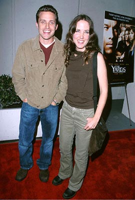 Premiere: Amanda Foreman with fellow at the Beverly Hills premiere of Miramax's The Yards - 10/18/2000