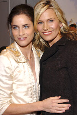Premiere: Amanda Peet and Natasha Henstridge at the Westwood premiere of Columbia Pictures' Spanglish - 12/9/2004