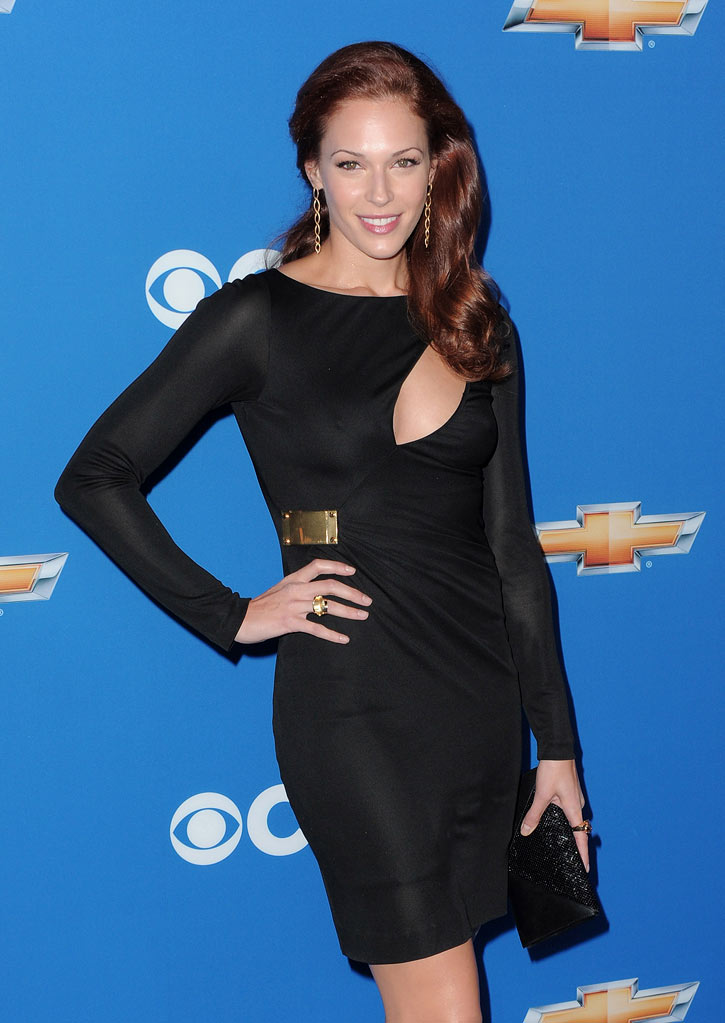 "Amanda Righetti of ""The Mentalist"" arrives at the CBS Fall Season Premiere party at The Colony on September 16, 2010, in Los Angeles."