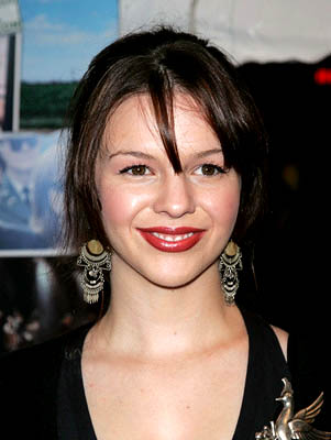 Premiere: Amber Tamblyn at the NY premiere of Paramount's Elizabethtown - 10/10/2005