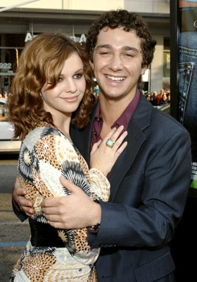 Premiere: Amber Tamblyn and Shia LaBeouf at the Hollywood premiere of Warner Bros. Pictures' The Sisterhood of the Traveling Pants - 5/21/2005