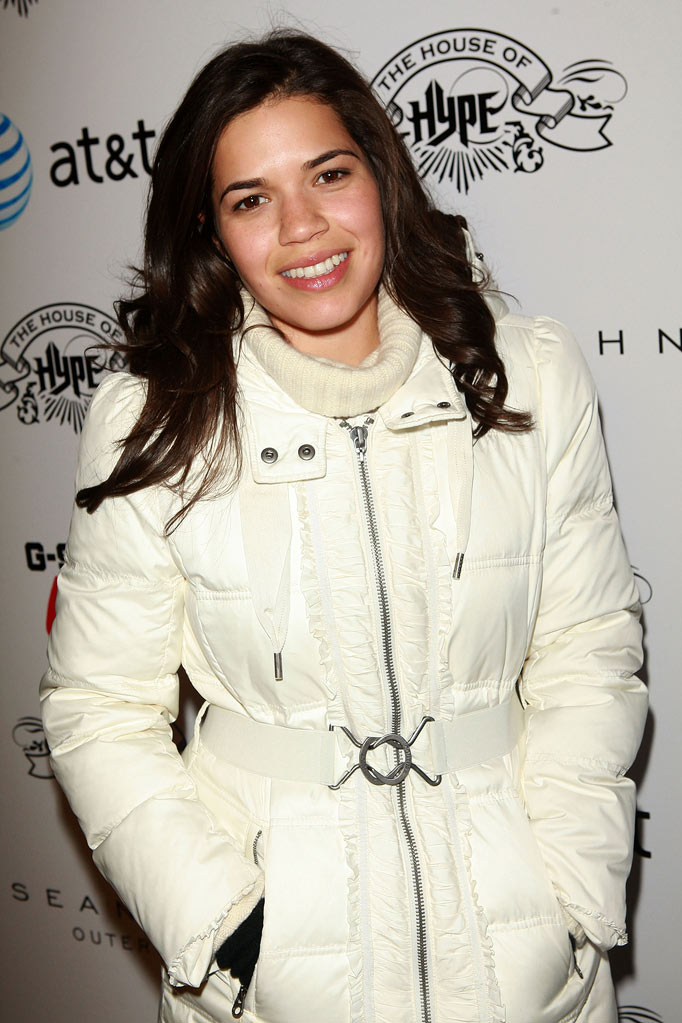 "America Ferrera attends the ""Abel"" cast dinner and after party at the House of Hype on January 25, 2010 in Park City, Utah."