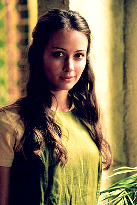 "Amy Acker as Winifred ""Fred"" Burkle in WB's Angel"