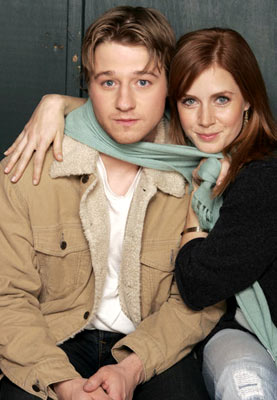 Benjamin McKenzie and Amy Adams Junebug Portraits - 1/24/2005 Sundance Film Festival