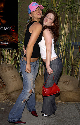 Premiere: Kaley Cuoco and Amy Davidson at the LA premiere of MGM's Jeepers Creepers 2 - 8/25/2003