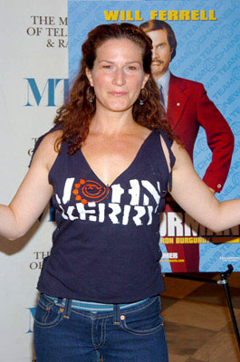 Premiere: Ana Gasteyer at the New York premiere of Dreamworks' Anchorman - 7/7/2004