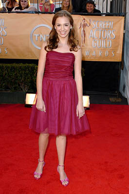 Andrea Bowen Screen Actors Guild Awards - 2/5/2005