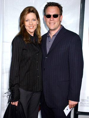 Premiere: Andrea Parker and guest at the Westwood premiere of New Line Cinema's Monster-In-Law - 4/29/2005